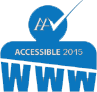 Accessible logo