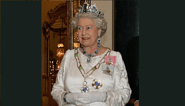 Queen Elizabeth Aquamarine Tiara