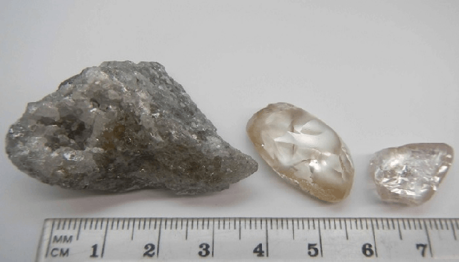 133.4 Carat Diamond Recovered at Lulo