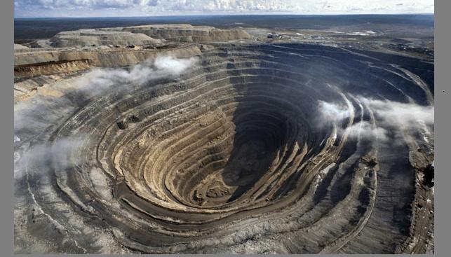 An Alrosa diamond mine Verkhne-Munskoe