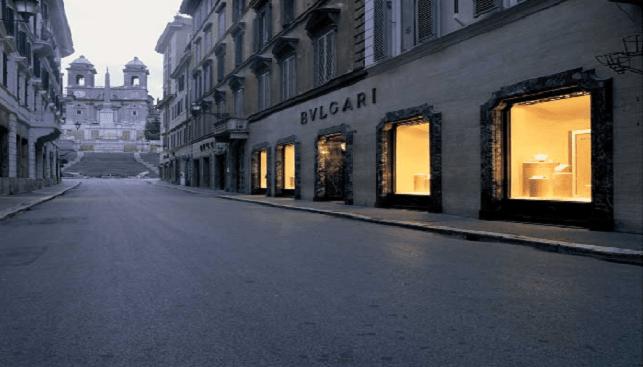 Bvlgari Rome store