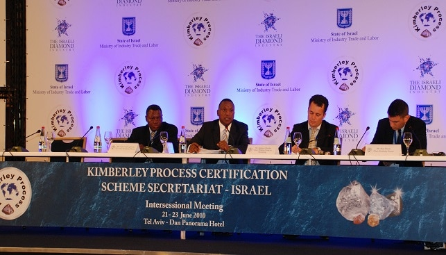 The kimberley process forum in Israel
