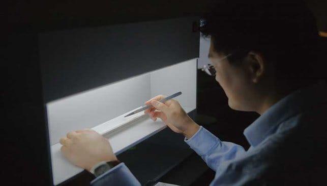 Diamond grading at a GIA laboratory