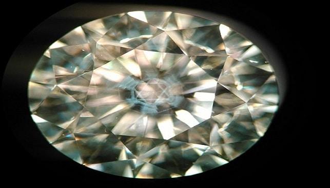 Diamond with Magen David