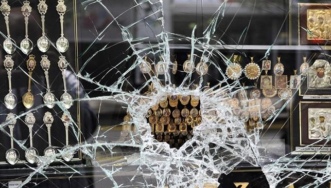 Jewelry robbery store