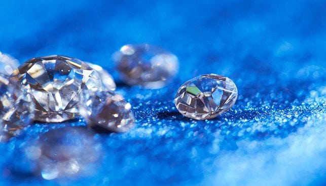 Polished Brilliant Diamonds