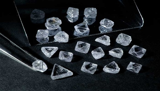 Rough Diamonds De Beers