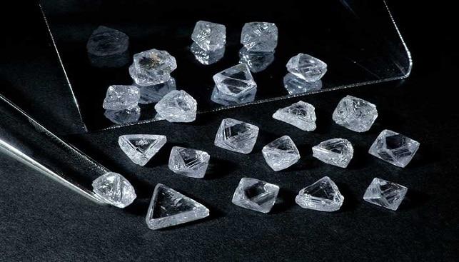 Rough Diamonds De Beers