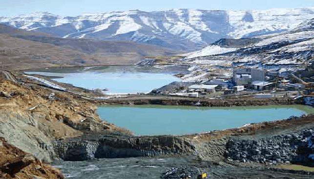 Liqhobong diamond Mine in Lesotho