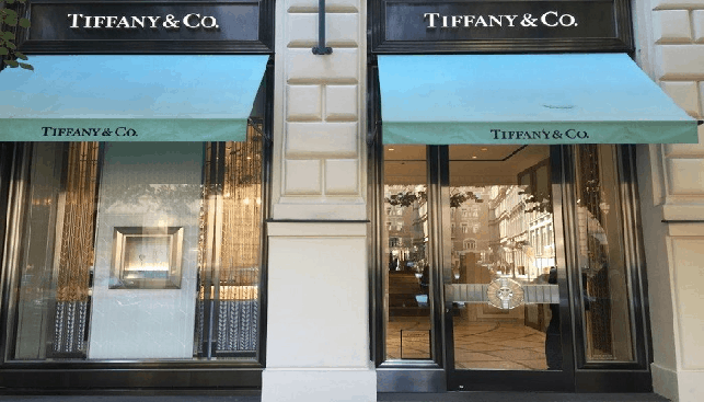 Tiffany & Co store in Prague