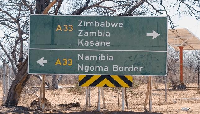Namibia or Zimbabwe