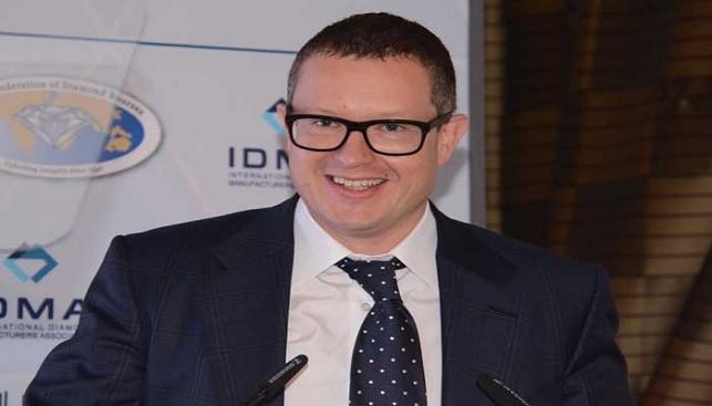 Alrosa CEO Andrey Zharkov