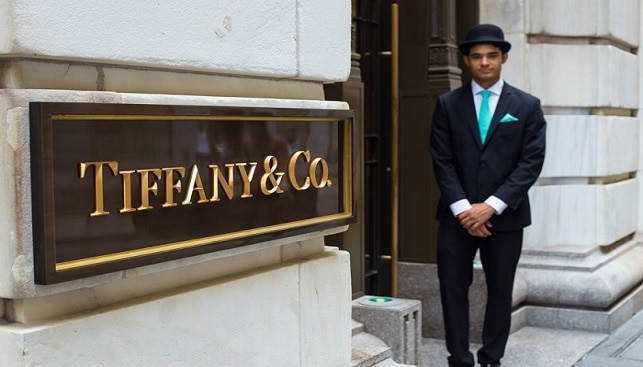Tiffany & Co. Building on Wall Street
