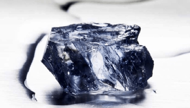 Rough Blue Diamond of Petra