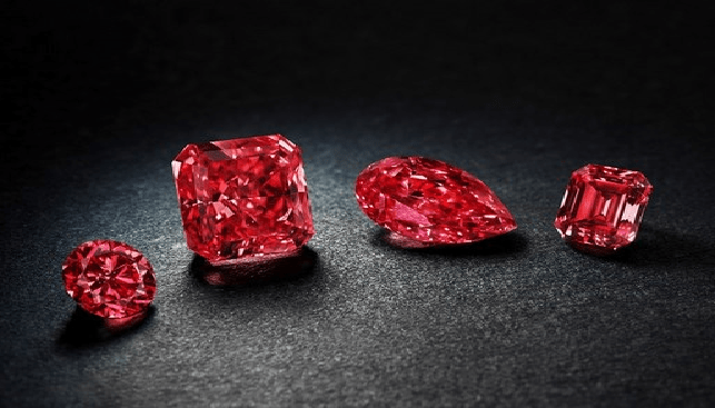 Fancy Red Diamonds from the Argyle Mine