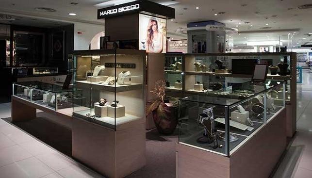 Marco Bicego boutique inside Harvey Nichols in London