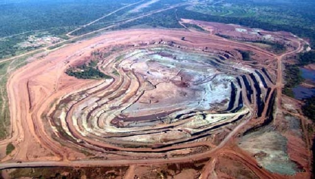 The Catoca diamond Mine Alrosa