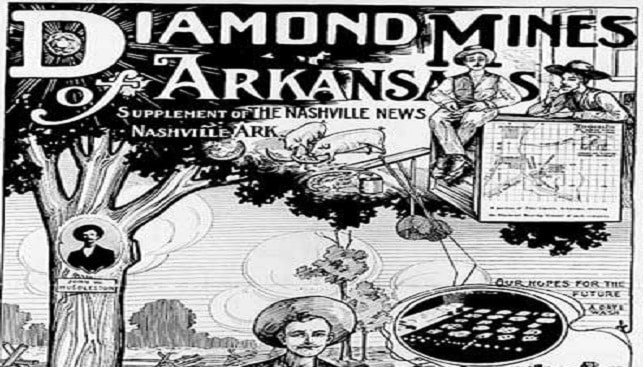 Diamond mines of Arkansas