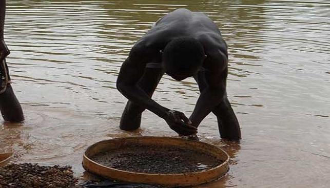 Miner at Sierra-Leone