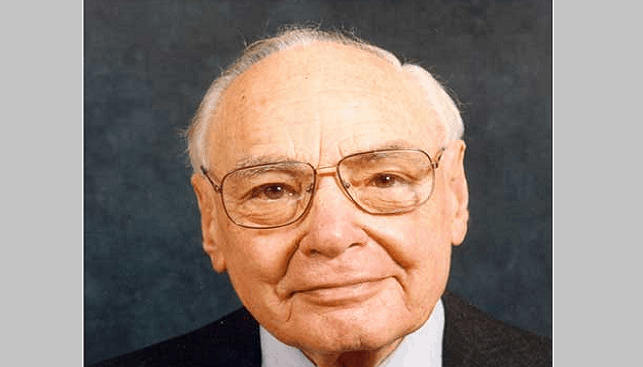 Former chairman of Anglo American and De Beers Harry Oppenheimer