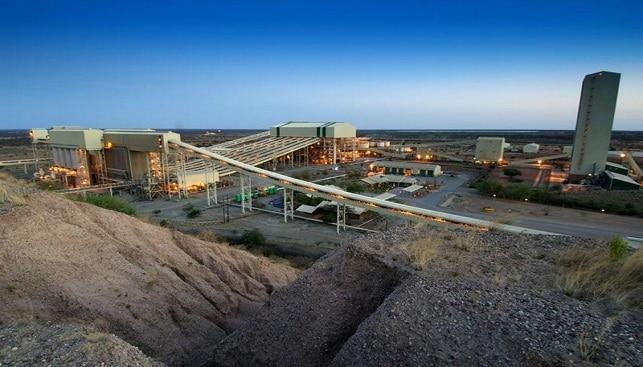 Debswana's Orapa diamond mine