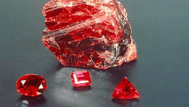 July BirthStone: The Ruby - Israeli Diamond