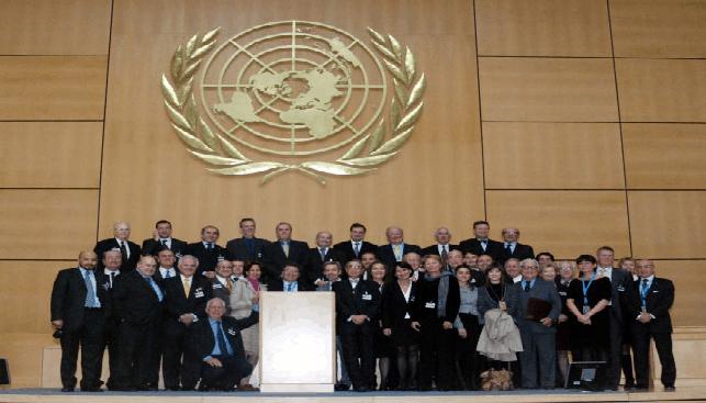 CIBJO Delegation at UN
