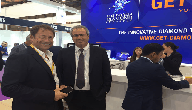 IDE President (right) at HK Show