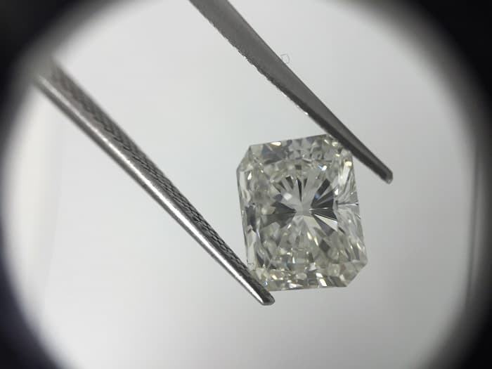 Polished diamond