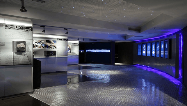 Harry Oppenheimer Diamond Museum in Ramat Gan