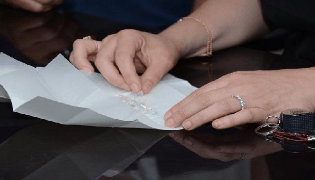 Examining rough diamonds