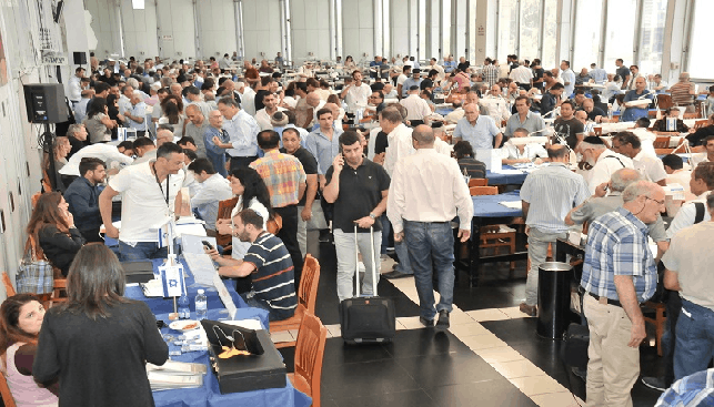Trading Hall at IDE