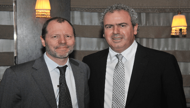 DPA CEO Jean-Marc Lieberherr and IDE President Yoram Dvash