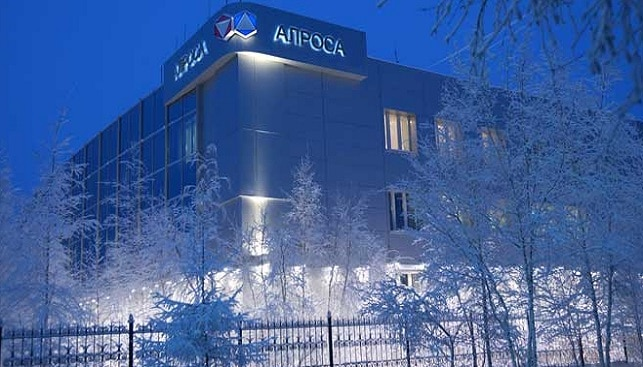 Alrosa Head Office At Mirny