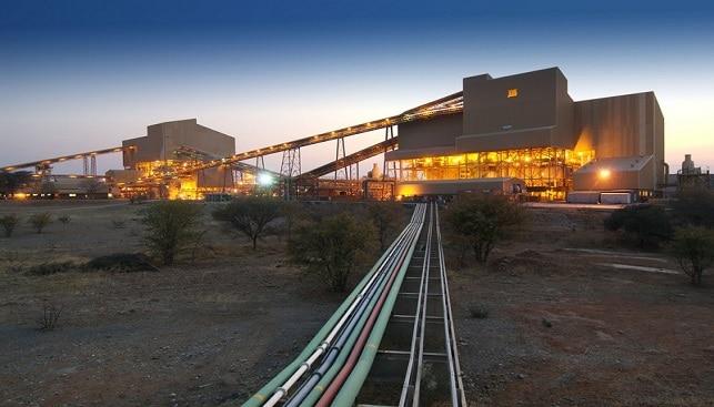 De Beers Venetia diamond separation plant