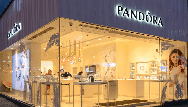 Pandora store in Hong Kong
