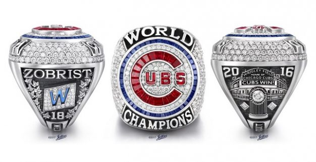 The Cubs' World Series Ring
