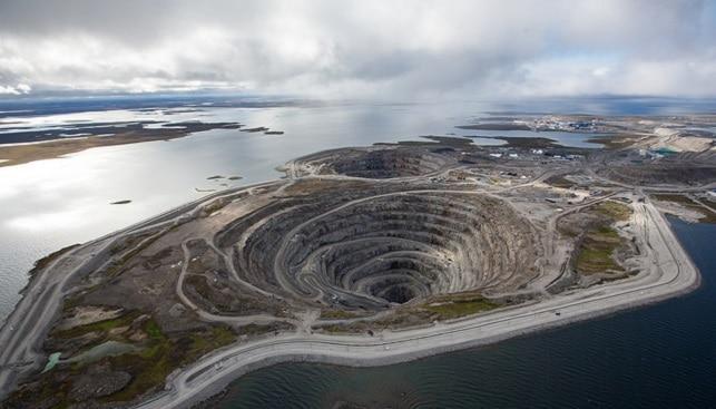 Diavik Mine, Rio Tinto