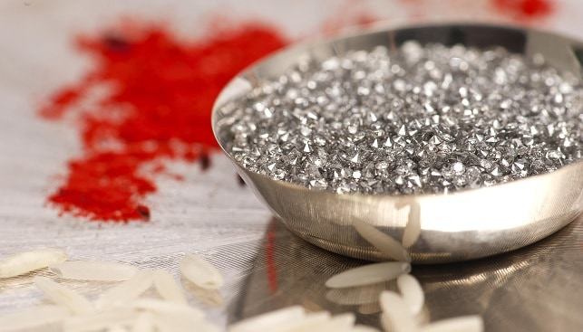 Polished diamonds from the Argyle Diamond Mine