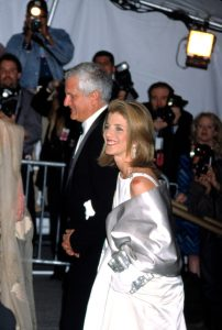 Caroline Kennedy Schlossberg and husband Edwin Schlossberg