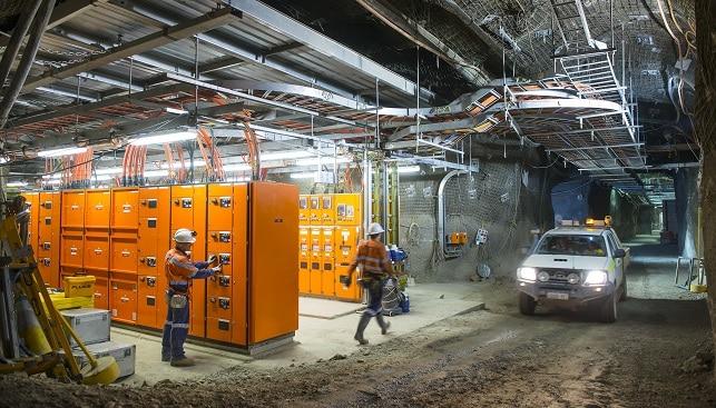 Argyle underground power station