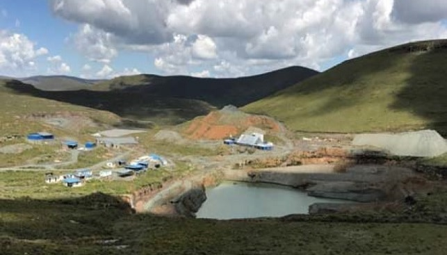 Mothae kimberlite diamond project in Lesotho, southern Africa