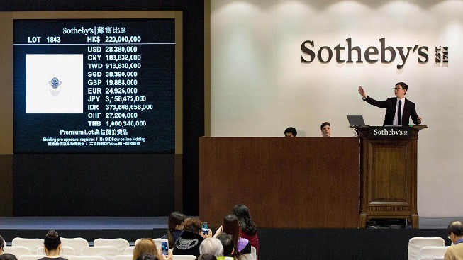 Sotheby's Hong Kong Magnificent Jewels and Jadeite Spring Sale