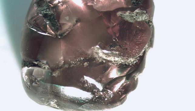 2.78-carat brown diamond