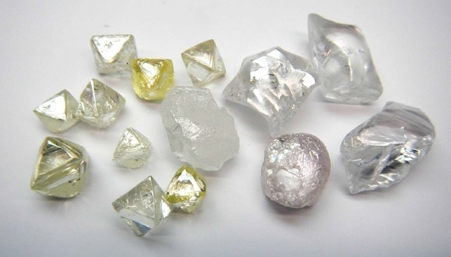 Lucapa Diamonds from Lulo mine