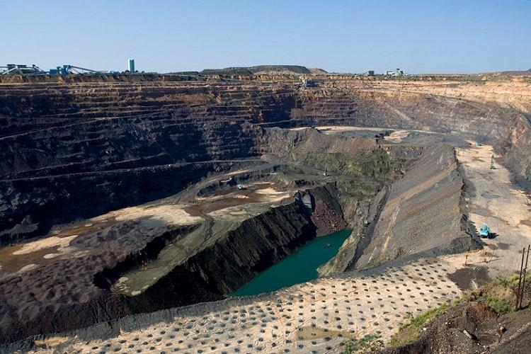 Diamond Mine Jwaneng Botswana