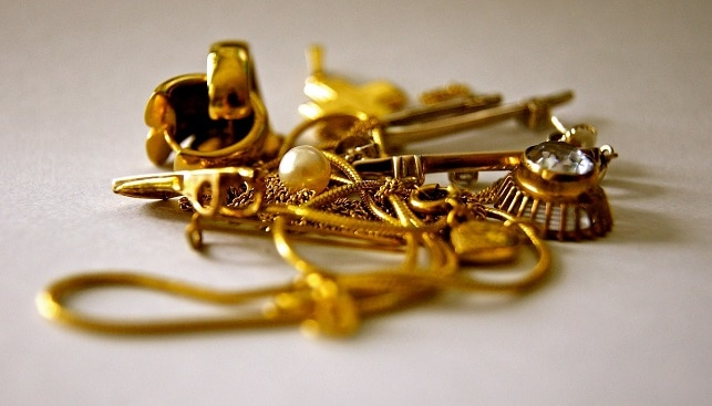 Gold jewelry India