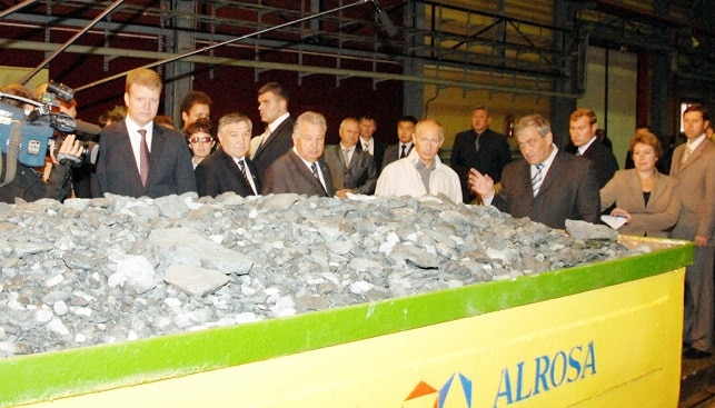Putin diamond mining Russia