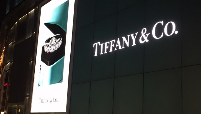 Tiffany jewelry Beijing China