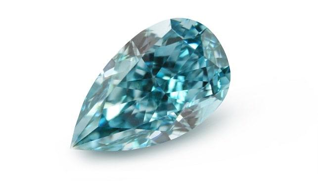 blue color diamond